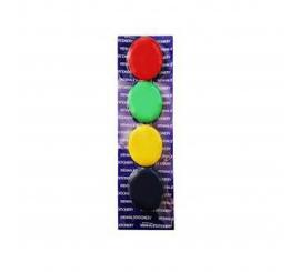 Boutons de fixation magnétique Gm paquet de 4