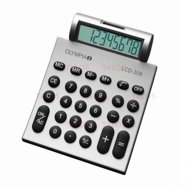 Calculatrice de bureau 8 chiffres Olympia