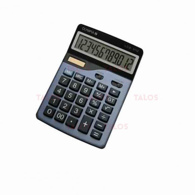 Calculatrice de bureau LCD 5112 12 chiffres Olympia