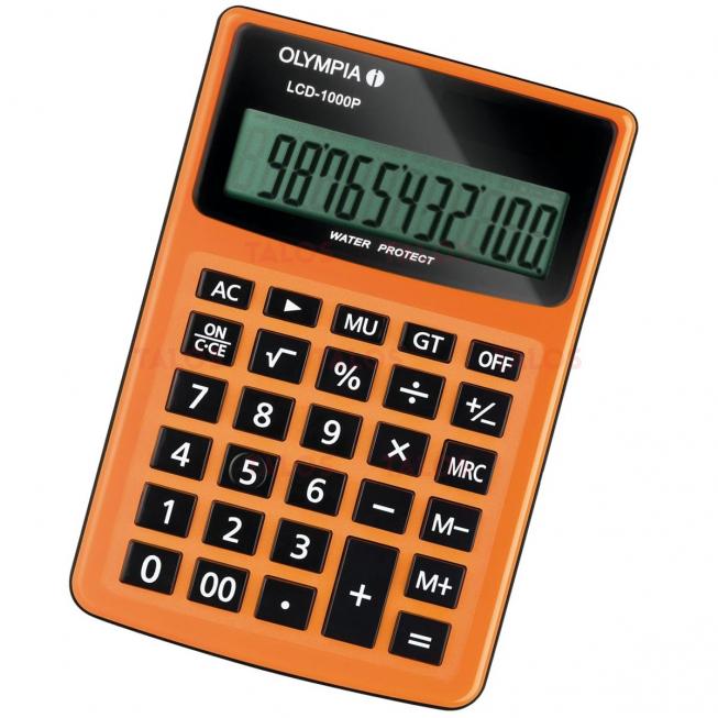 Calculatrice de bureau LCD 1000P 12 chiffres Olympia