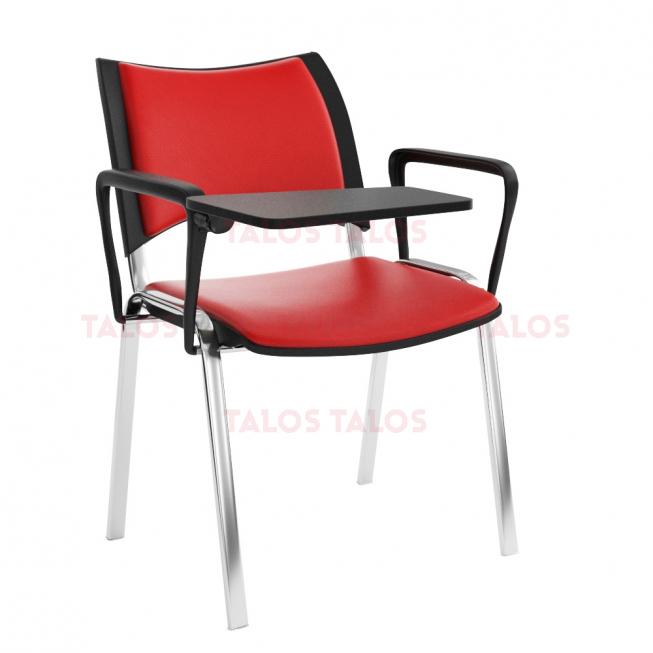 Chaise Smart Conférence Structure Chromé