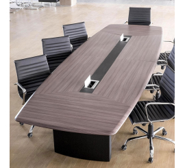 Table de réunion Iris en PVC 6m