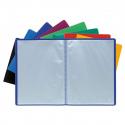 Porte documents Exacompta A4 polypropylène 100 vues couleurs assorties