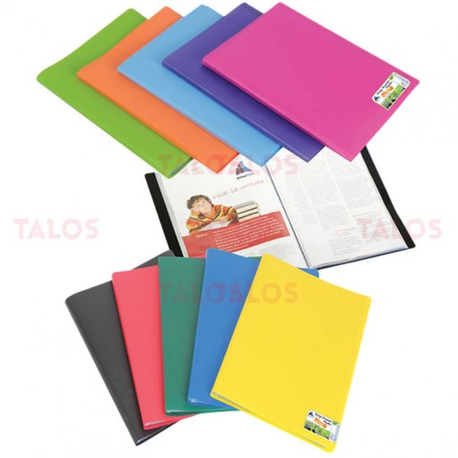 Protège-documents en polypropylène polyclass 60 vues Office plast