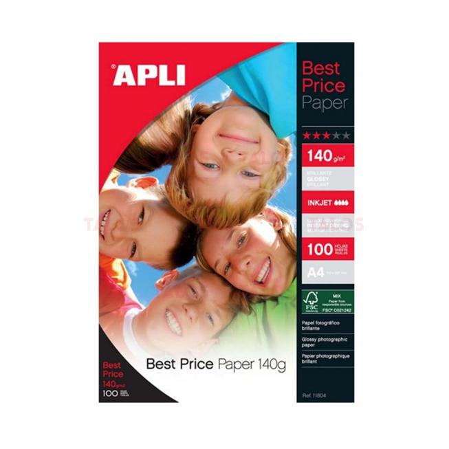 Papier photo Best Price Brillant A4 140 Gr