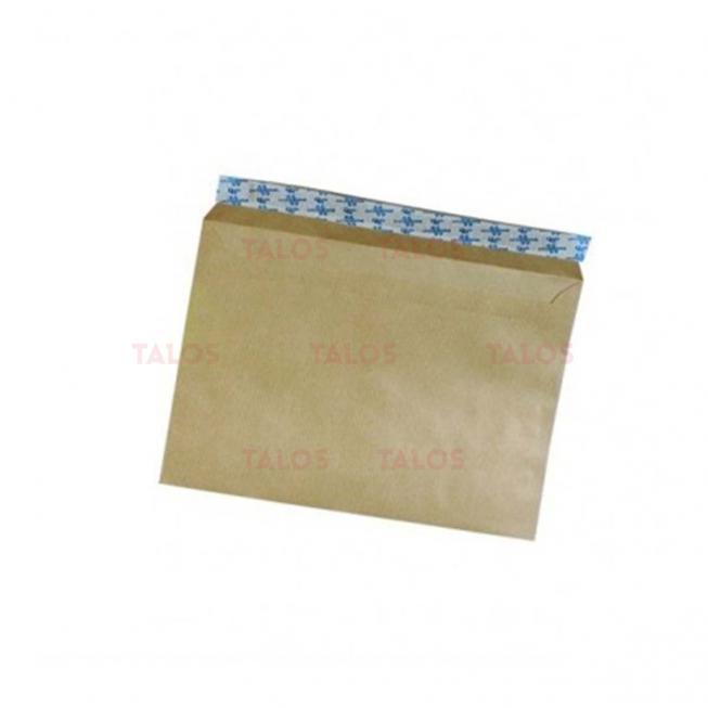 Enveloppe kraft 162x229 bande adhésive 90 Gr