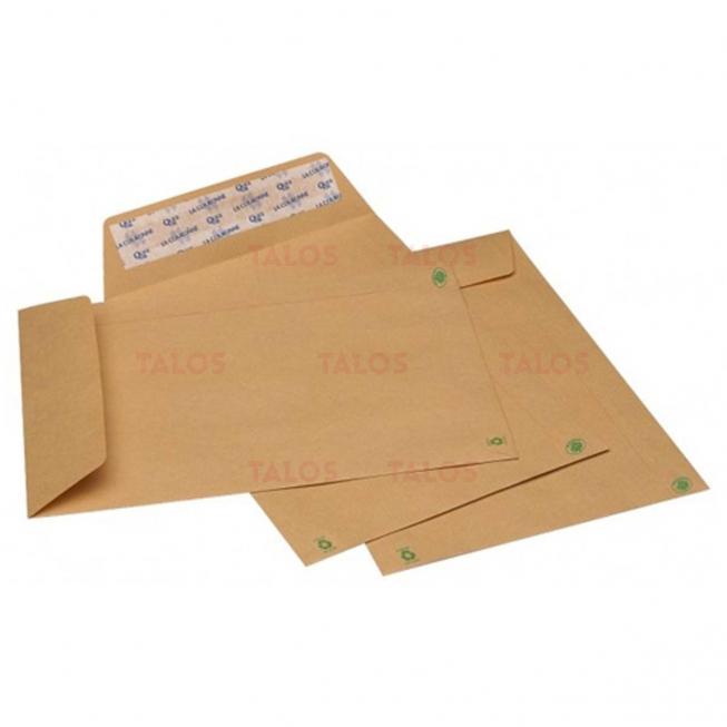Pochette Kraft 176x250 bande adhésive 90 Gr paquet 50