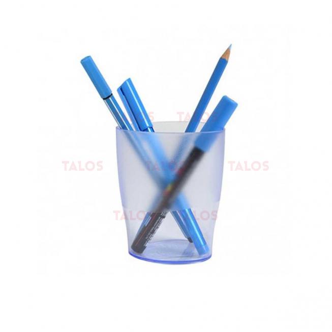 Pot à crayon Exacompta Ecopen bleu glacée