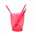 Pot à crayon Exacompta Ecopen framboise