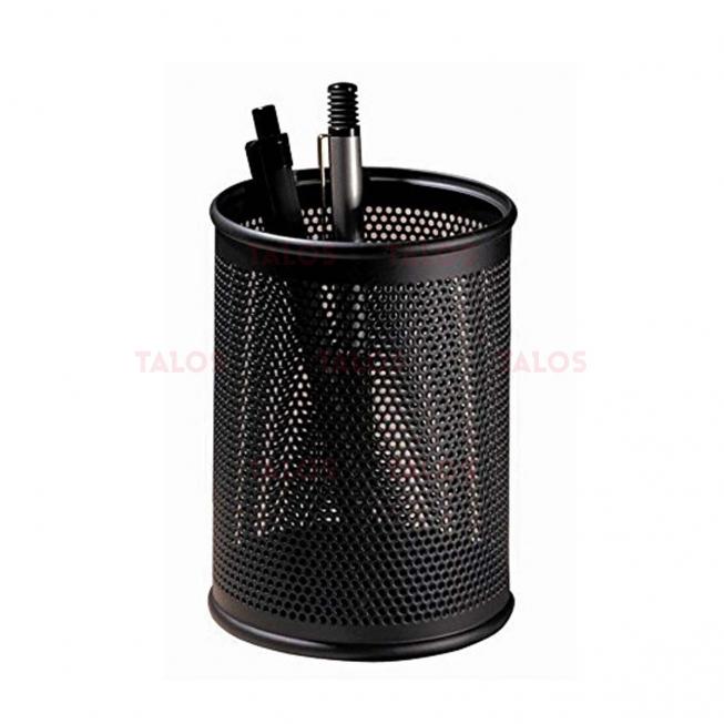 Pot à stylo métal noir
