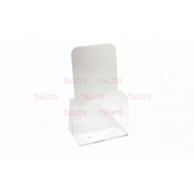 Porte dépliants 1/3 A4 cristal