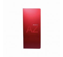 Porte carte visite Apli rouge capacité 160 cartes