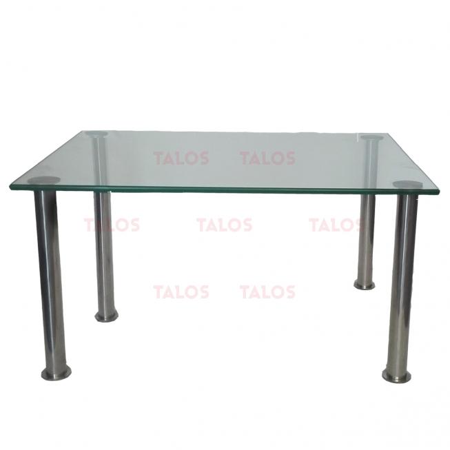 Table basse Diva socle inox