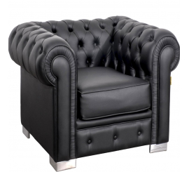 Fauteuil Chesterfield à 1 place