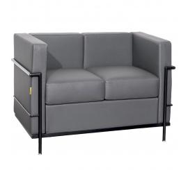 Canapé le Corbusier à 02 places