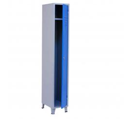 Vestiaire métallique à 1 porte H/1850 L/300 P/450