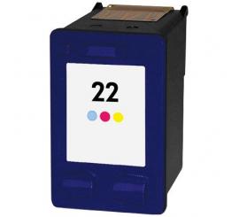 Cartouche 3 couleurs Adaptable HP 22
