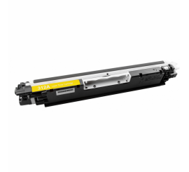 Toner HP adaptable 126A yellow