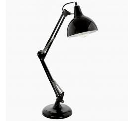 Lampe de Bureau Borgillio NOIRE EG94697
