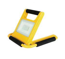 Projecteur LED workerslamp IWAR 10W IP44 av chargeur ACDC+12V autonomie 5h