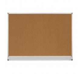 Tableau affichage liège 90x120 cadre aluminium 2x3