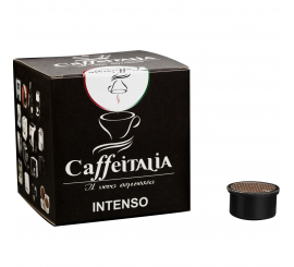 Paquet de 10 Capsules café CAFFÉITALIA compatible Lavazza point INTENSO