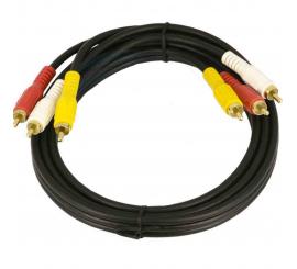 Câble 3RCA/ 3RCA 1,5m