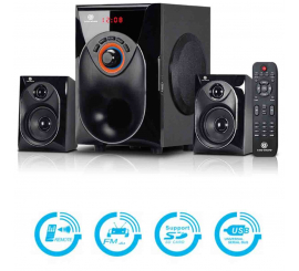 Haut-Parleur Gold Sound 206 Avec Bluetooth