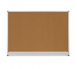 Tableau affichage 2x3 liège cadre aluminium 120x180
