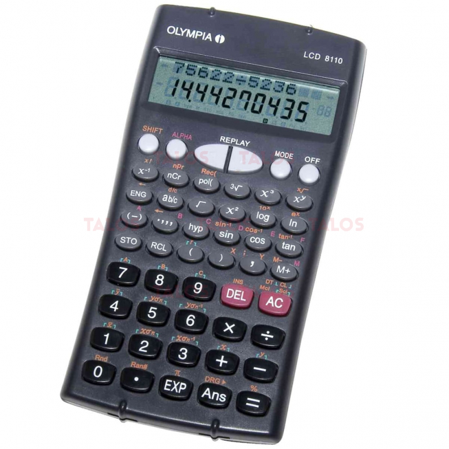 Calculatrice Scientifique Olympia 12 chiffre LCD8110