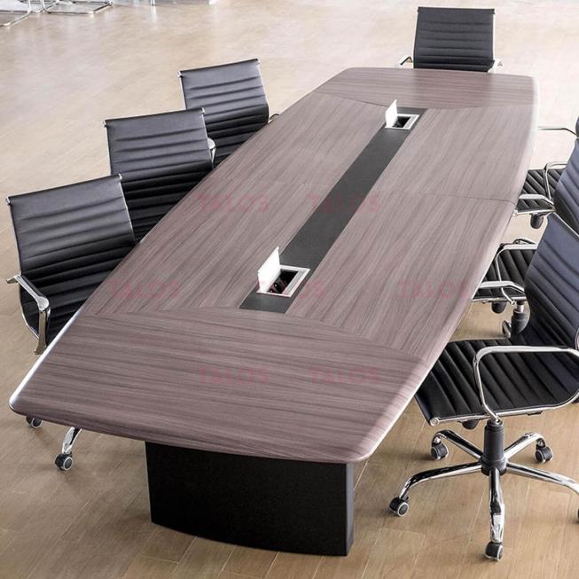 Table de réunion Iris en PVC 3m