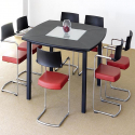 Table de réunion Krea PVC