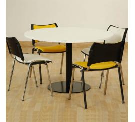 Table de réunion Ovni en PVC diamètre 120