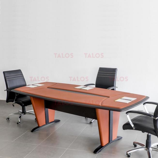 Table de réunion Padova PVC 240cm