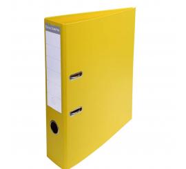 Classeur à levier Exacompta A4 Pvc dos 70 jaune