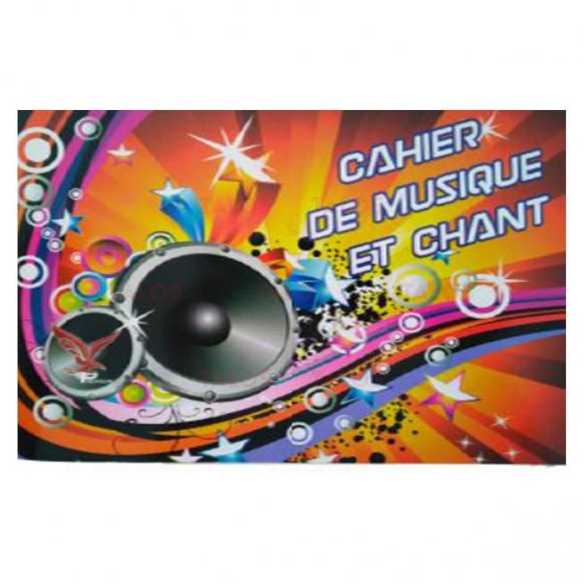 Cahier de musique et chant Vilaluxe