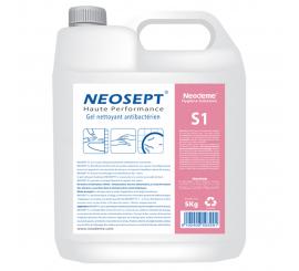 Savon Gel nettoyant hydratant bactéricide NEOSEPT S1 bidon de 5kg