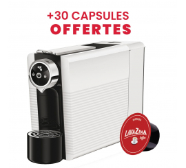MACHINE À CAFÉ SMARTY compatible Lavazza blue + 30 capssules gratuits