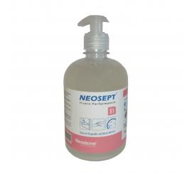 Savon nettoyant hydratant bactéricide NEOSEPT S1 flacon de 500ml