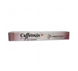 Paquet de 10 capsules café CAFEITALIA compatible NESPRESSO AMERICANO