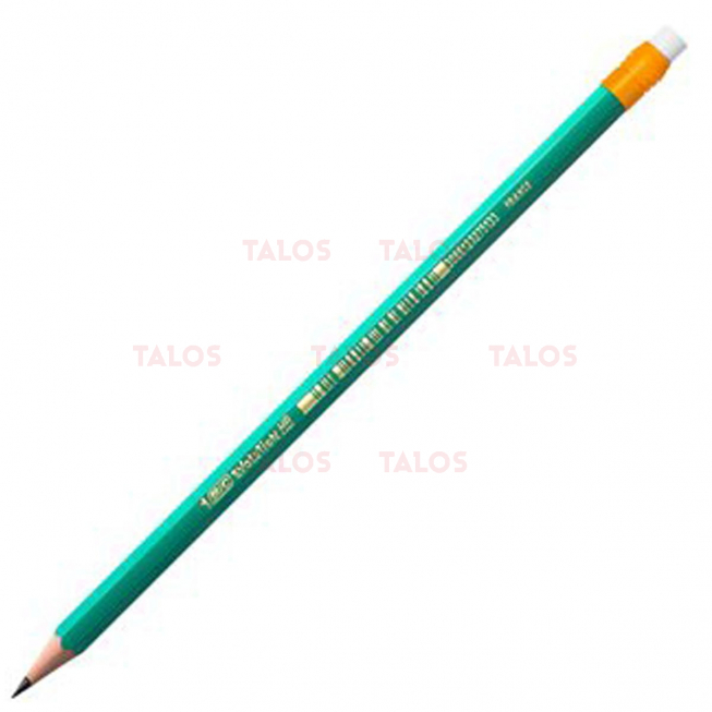 Crayon graphite BIC evolution HB avec gomme
