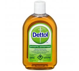 Dettol Antiseptique Désinfectant Liquide sols et surfaces 500 ML