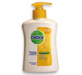 SAVON liquide Dettol Antibactérien Fresh 200 ML CITRON
