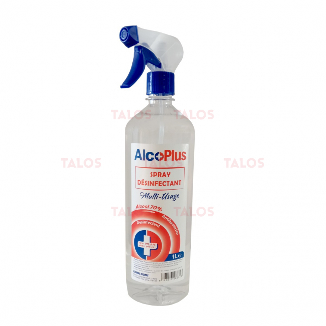 SPRAY DESINFECTANT ALCOPLUS 1L