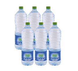 Pack de 6 bouteille d'eau jannet 2L