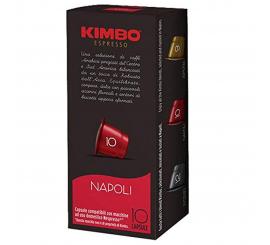 Paquet de 10 capsules kimbo NAPOLI compatible Nespresso