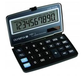 CALCULATRICE DE POCHE OLYMPIA LCD1010