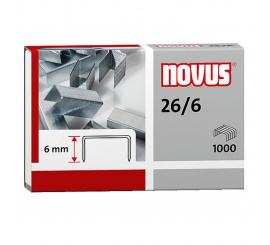 AGRAFES NOVUS 26/6 paquet de 1000