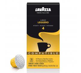 Capsule à café LAVAZZA compatible nespresso ESPRESSO LEGGERO Paquet de 10