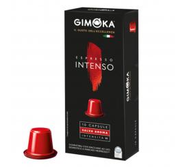 capsules à café GIMOKA compatible intenso Nespresso paquet de 10